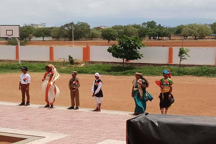 Shri Jayendra Vidhyalaya - independence day