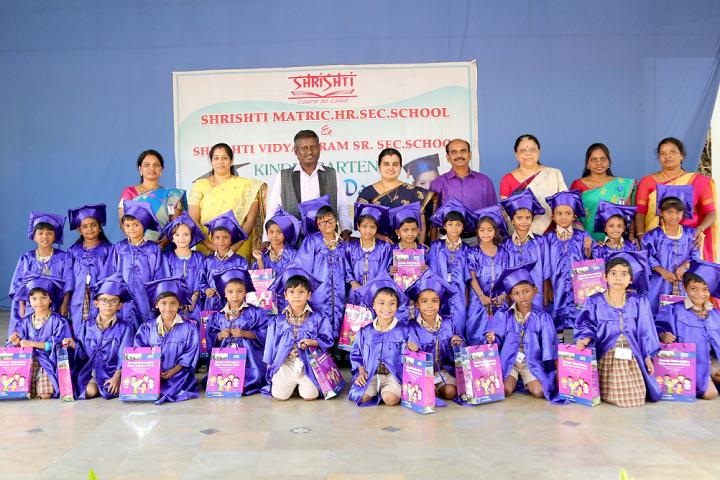 Shrishti Vidyashram - graduation day