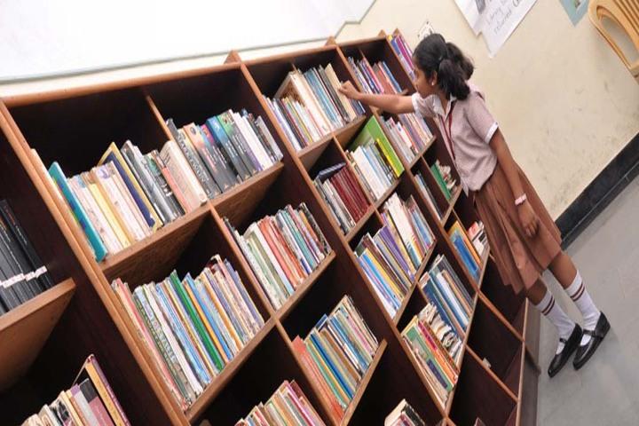 Shrishti Vidyashram - Library