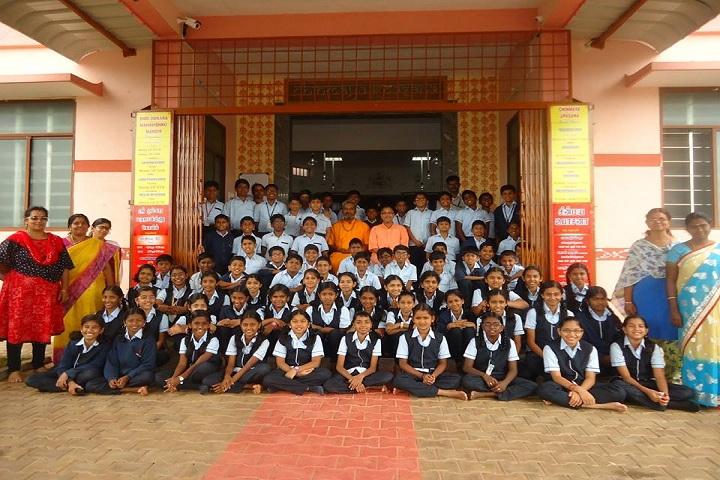 Sishya School - students