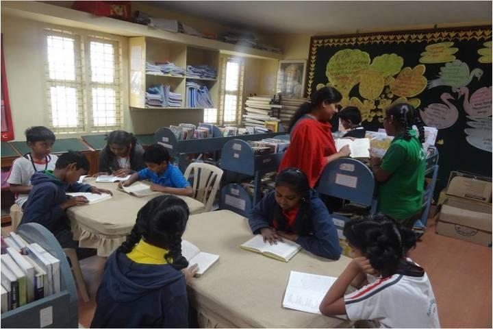 Sishya School - Library