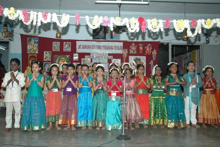 Ramkuwar Devi Fomra Vivekananda Vidyalaya-festival