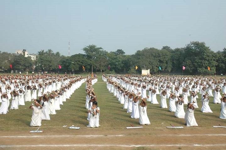 Ramkuwar Devi Fomra Vivekananda Vidyalaya-school exercise
