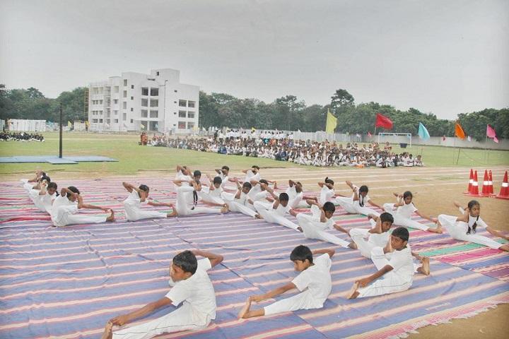 Ramkuwar Devi Fomra Vivekananda Vidyalaya-sports day1