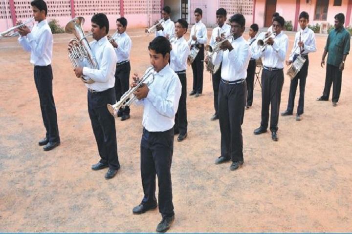 Srimathi Sundaravalli Memorial School-bank troupe