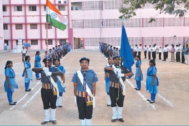 Srimathi Sundaravalli Memorial School-scouts