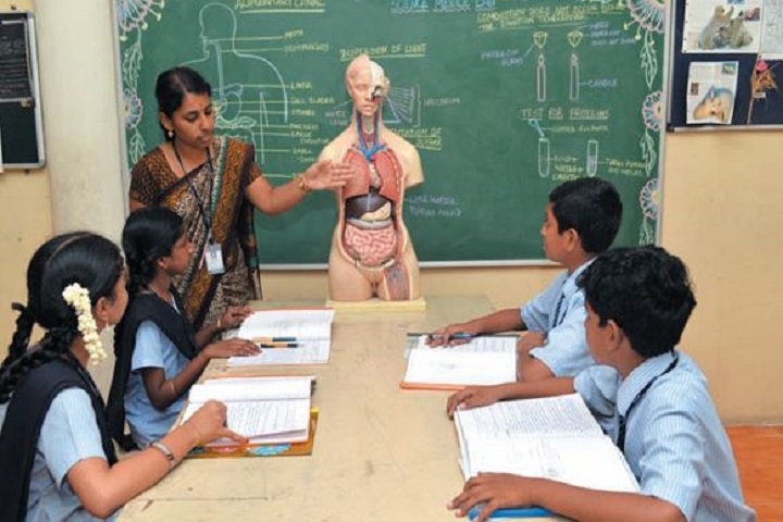 Srimathi Sundaravalli Memorial School-teacher explanation