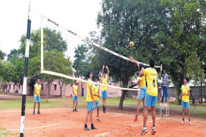 Srimathi Sundaravalli Memorial School-volley ball