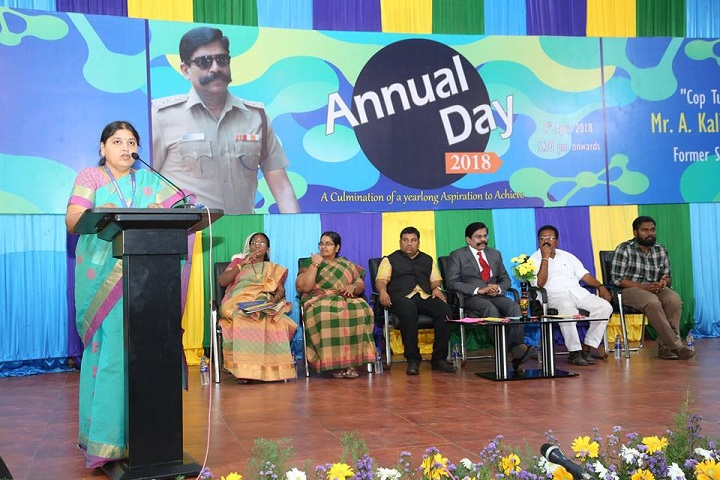 Spark school-science -annual day