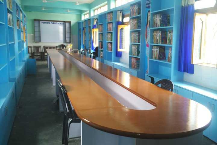 Pratibha Public School-Library