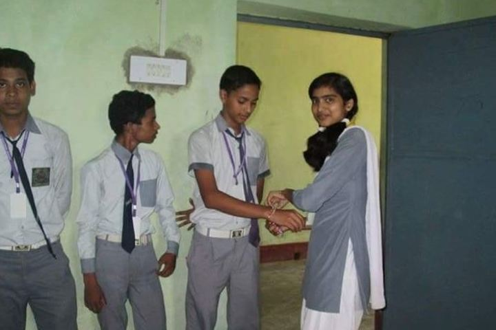 Pratibha Punj Public School-Rakshabandhan Celebration