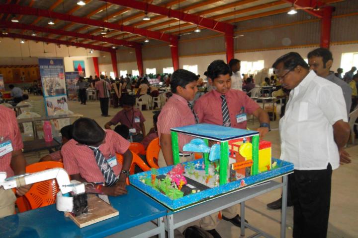Sri K R P Academy-Art exhibition