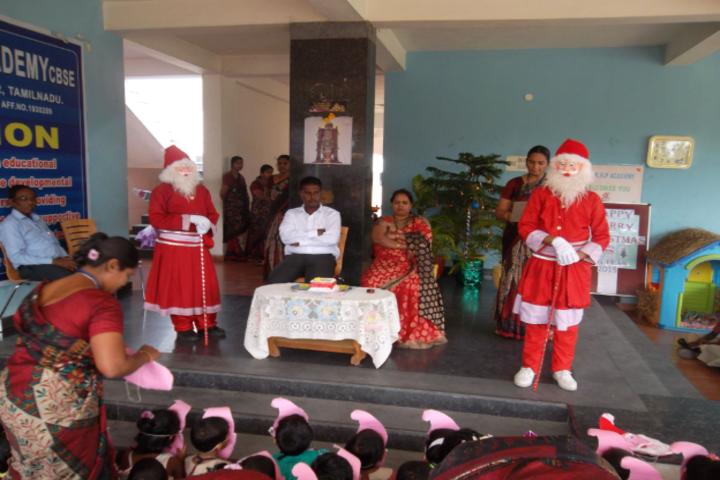 Sri K R P Academy-Christmas celebrations