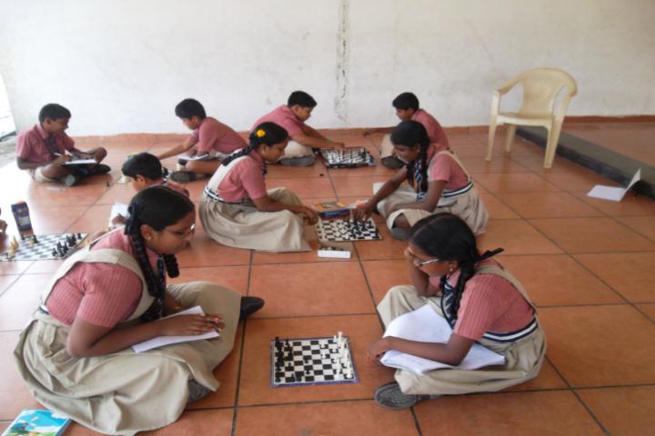 Sri K R P Academy-Indoor games