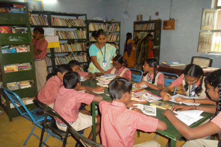 Sri K R P Academy-Library