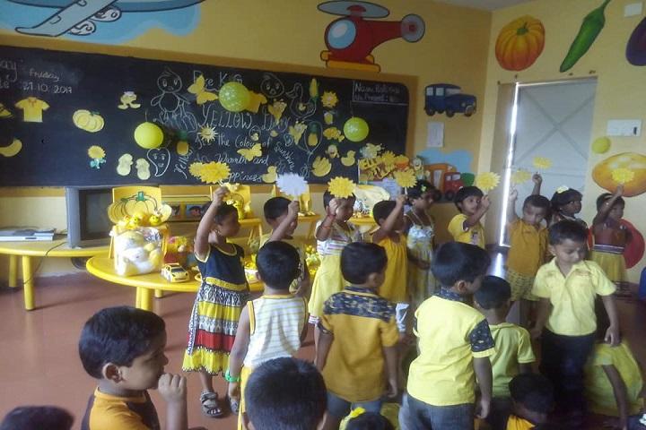 Sri K R P Academy-Yellow day