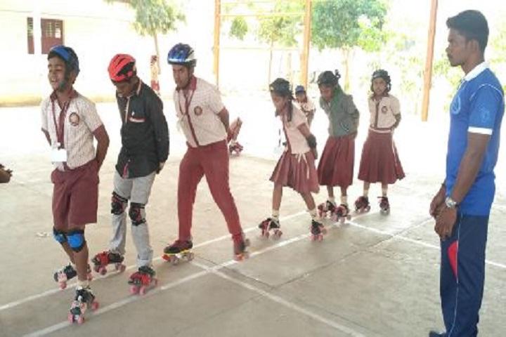 Sri Narayani Vidyashram School-skating