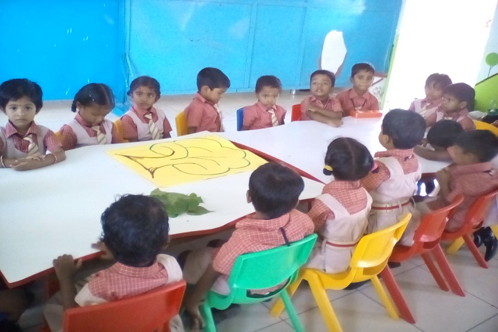 Sri Ramakrishna Public School-KG activity