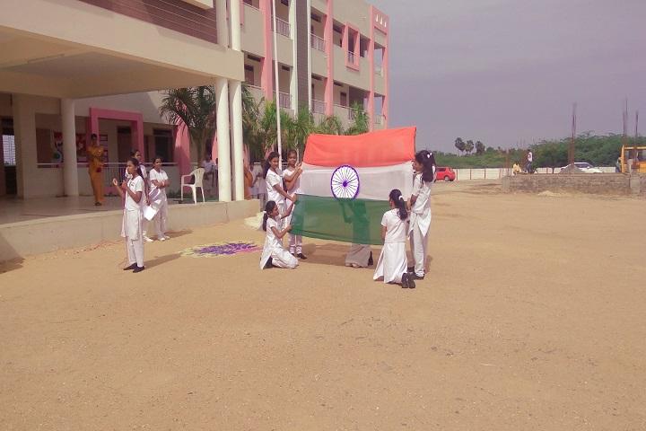 Sri Ramakrishna Public School-Independence day