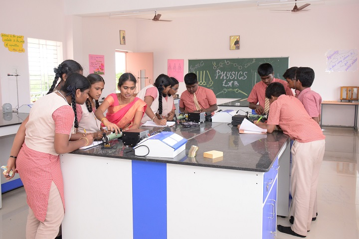 Sri Ramakrishna Public School-Physics lab