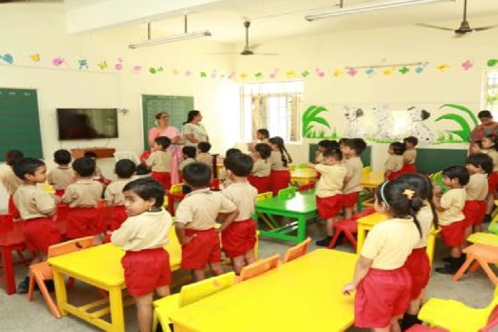 Sri Sankara Senior Secondary School-KG Classroom