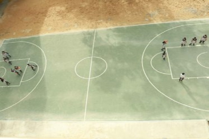 Sri Sankara Senior Secondary School-Basketball Court