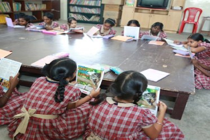 Sri Sankara Senior Secondary School-Reading Room