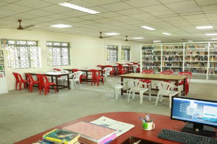 Sri Sankara Senior Secondary School-Library