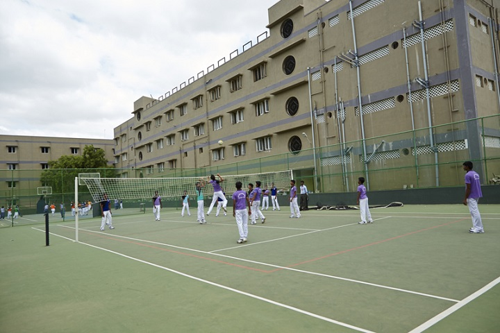 Sri Vijay Vidyashram-volleyball