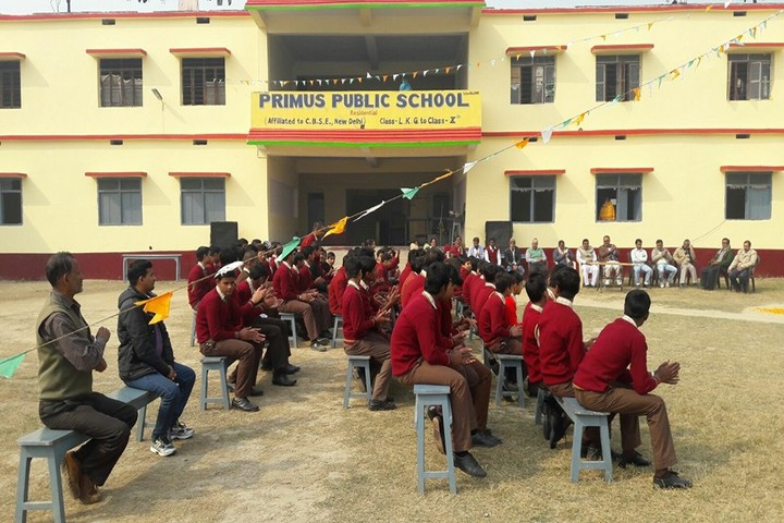 Primus Public School-Students