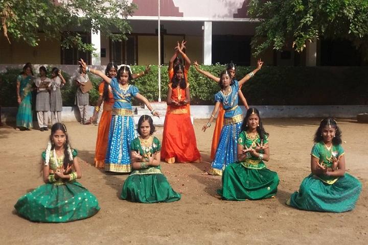Sri Vageesha Vidhyashram-dance