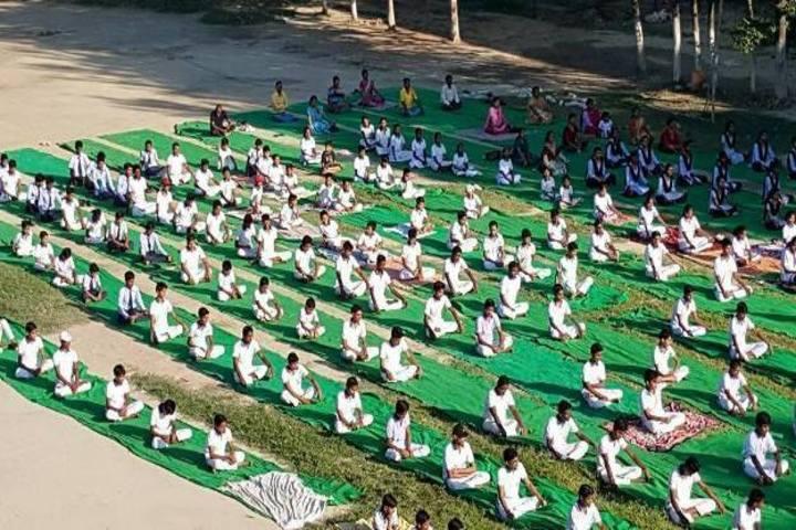 Pristine Children High School-Yoga