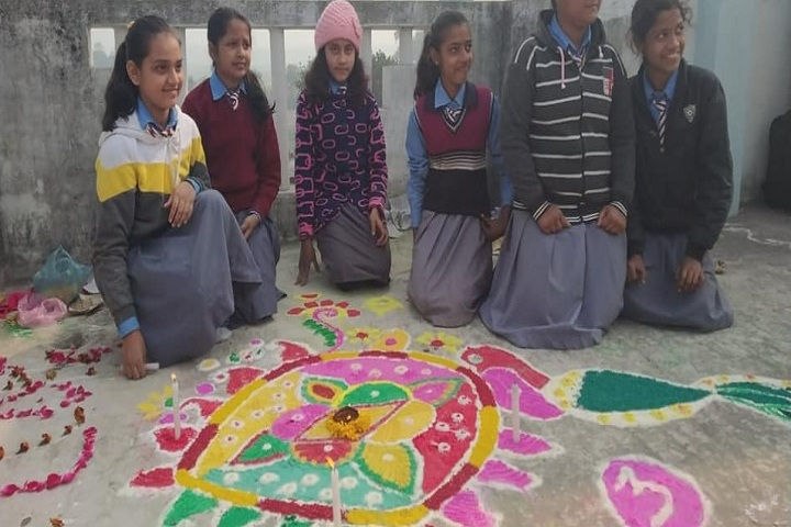 Progressive Central School-Rangoli