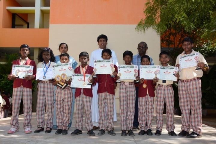 St Antonys Public School- Prize Distribution