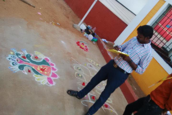 Star School- Rangoli