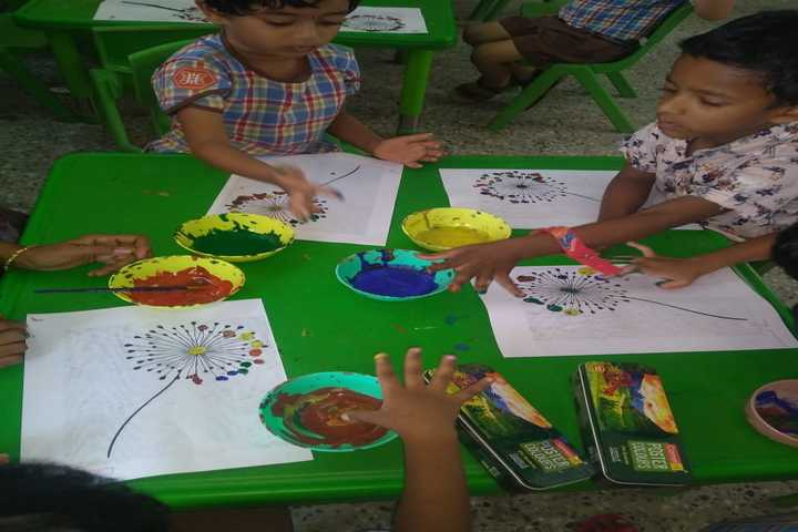 Subbiah Central School- Art and Craft