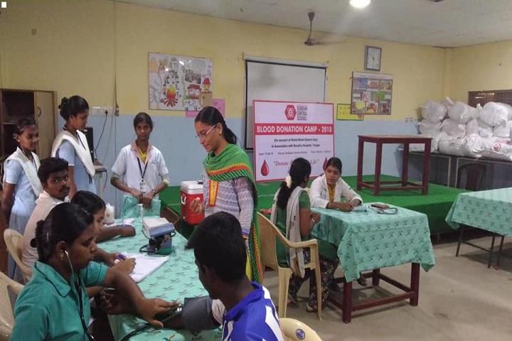 Subbiah Central School- Blood Donation Camp