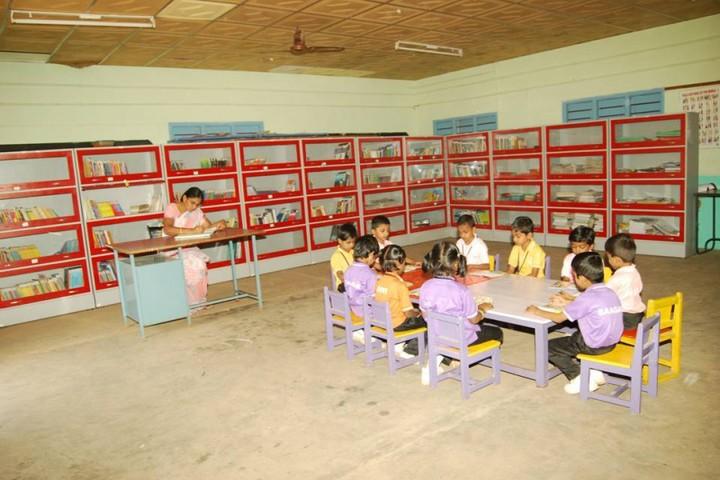 Subbiah Central School- Library
