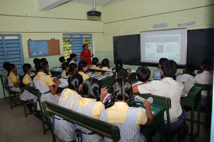 Subbiah Central School- Smart Class
