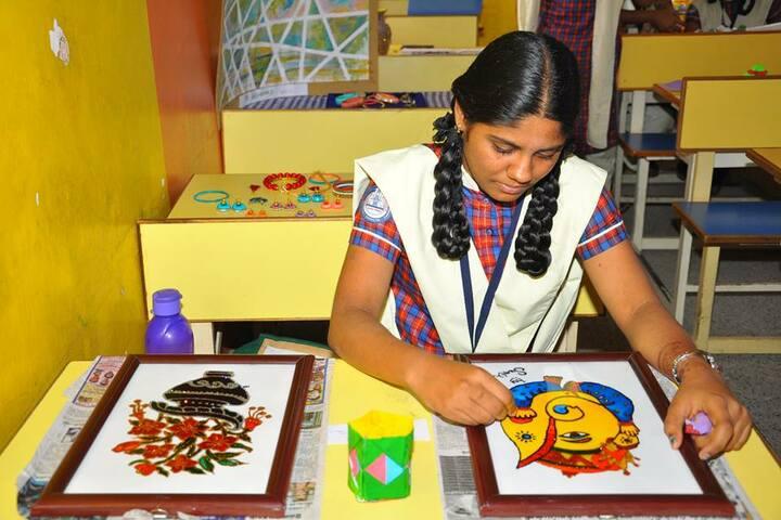 Sunbeam Senior Secondary School- Art and Craft