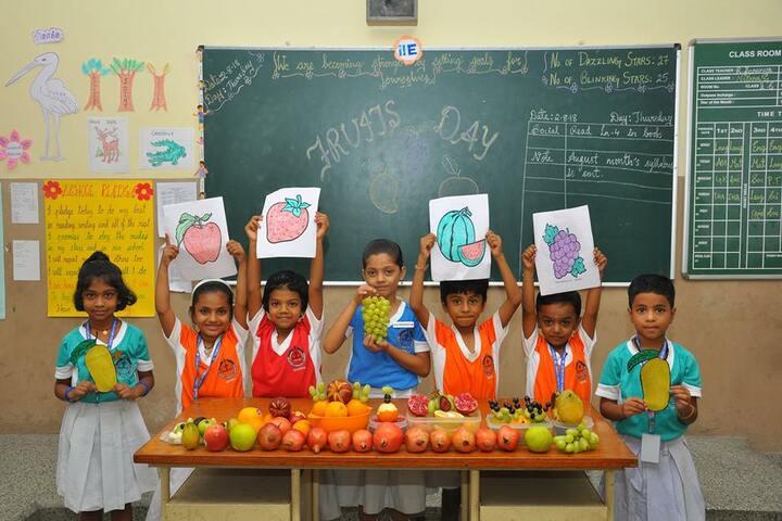 Sunbeam Senior Secondary School- Fruits Day
