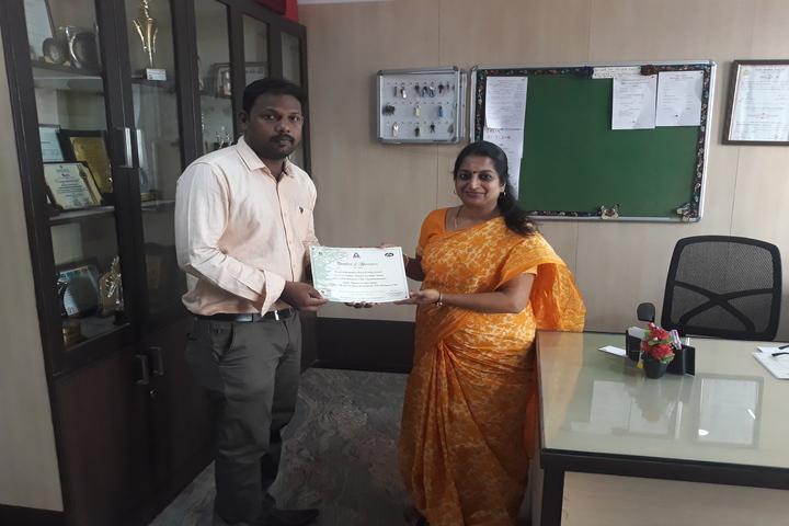 Sunshine Chennai Senior Secondary School- ITC Certificate