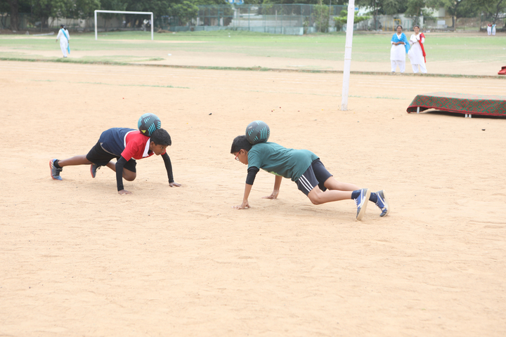 Sunshine Chennai Senior Secondary School- Playground