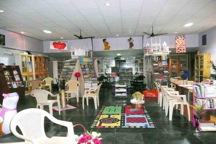 Sushil Hari International Residential School-Library