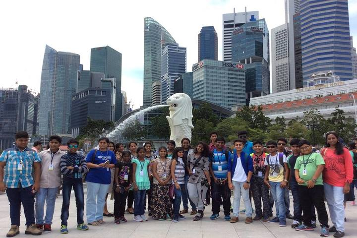 The Geekay world school-Group Photo