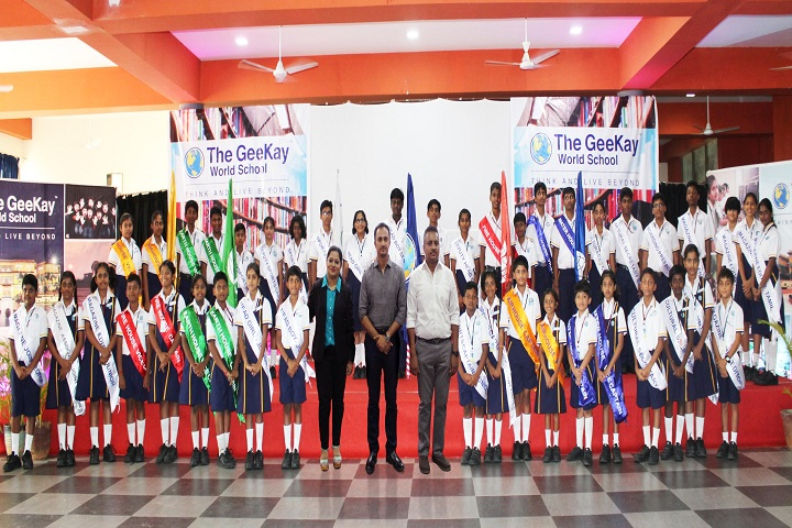 The Geekay world school- Investiture Ceremony