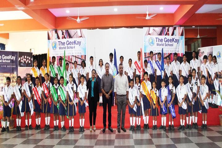 The Geekay world school- Investiture Ceremony