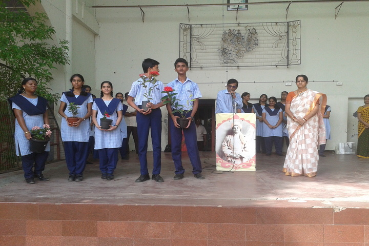 The Hindu Senior Secondary School- Environment Day