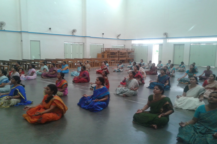 The Hindu Senior Secondary School- Meditation