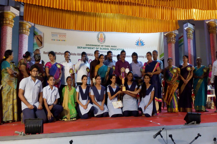 The Hindu Senior Secondary School- Prize Distribution